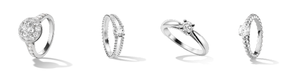 Van Cleef & Arpels Gorgeous Engagement Rings