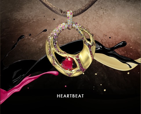 HEARTBEAT The purest and most genuine feelings infuse our «Heartbeat» collection with affection and tenderness of a beating heart. Every jewelry piece bears a heart-shaped stone – a much-revered embodiment of love in fine jewelry and a sincere way to show your deep feelings to your loved one. This collection will set hearts aflutter.