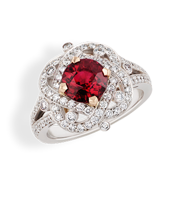 XENIA RUBY RING
