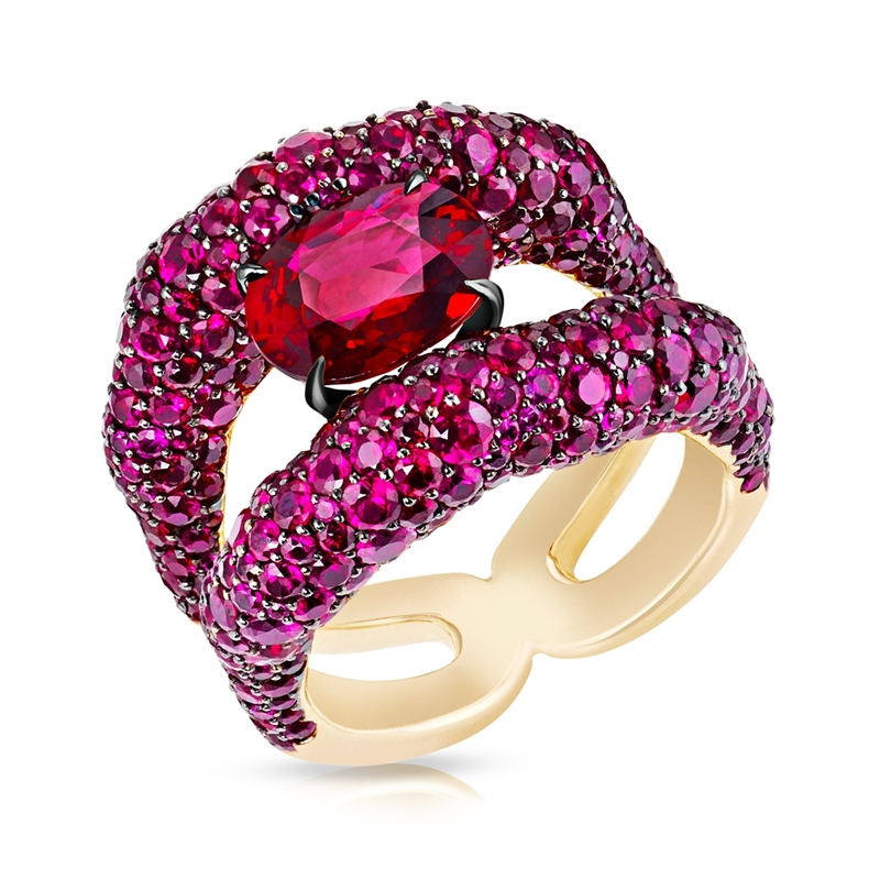 EMOTION CHARMEUSE RUBY RING