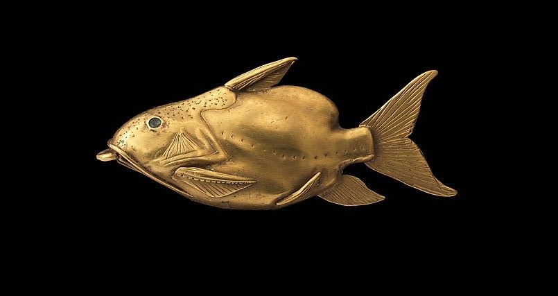 Fish Pendant (ca. 1878-1749 B.C.). Middle Kingdom, Egypt.