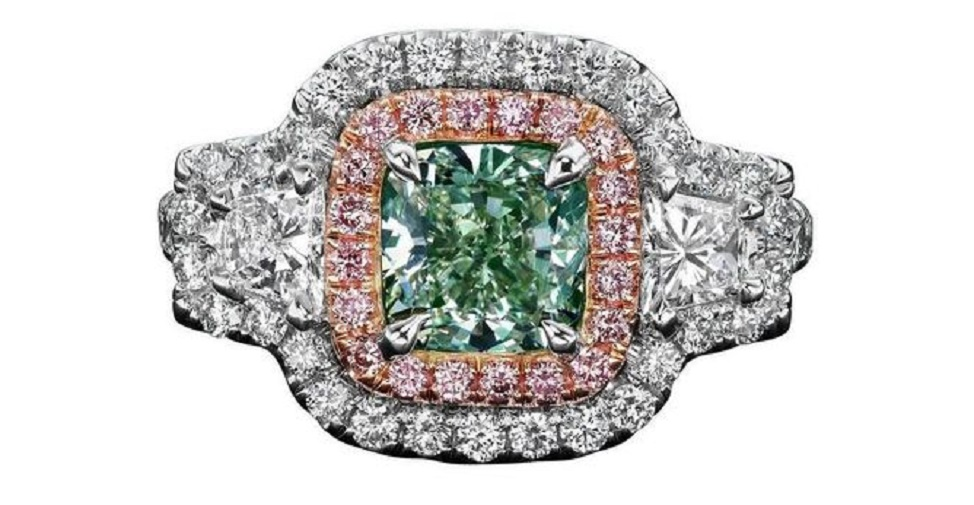 fancy colored color engagement ring intensity education pink diamond diamonds price